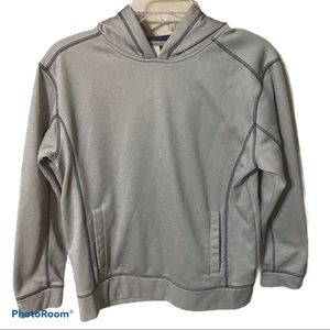 Starter boy's hoodie in light gray size 14-16
